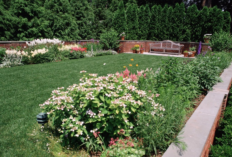 Terraced Garden « Steven R. Krog - Landscape Architect PC